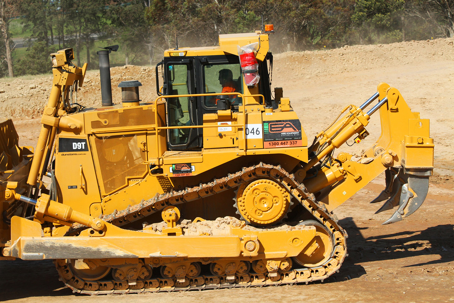 Dozer Heavy Equipment Hire