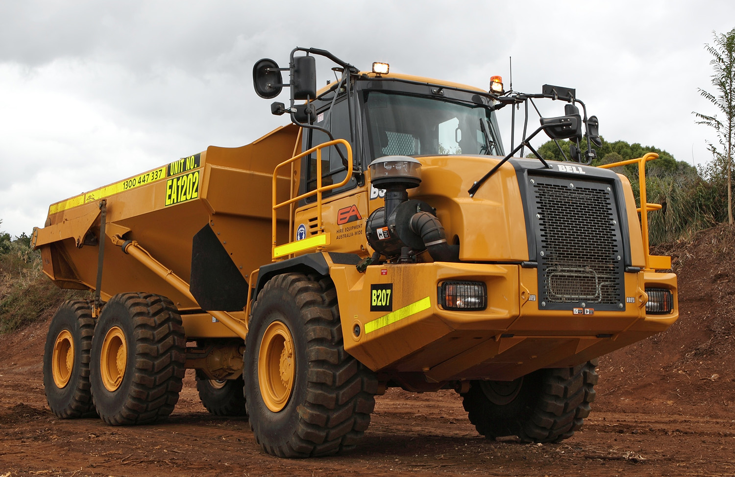 Dump Truck Heavy Equipment Hire