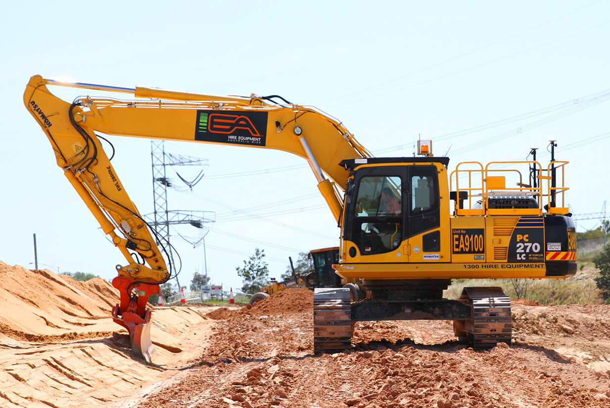 Excavator Heavy Equipment Hire