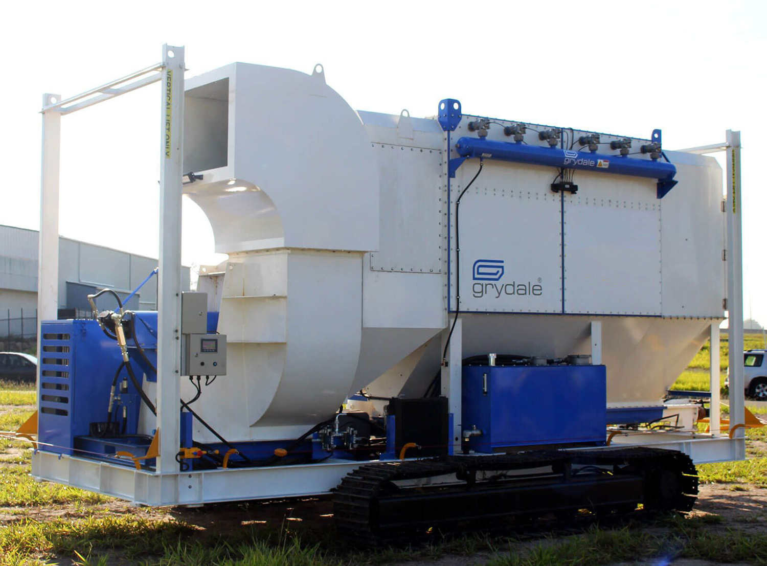 Dust Collection Unit - Specialised Hire by EA Hire